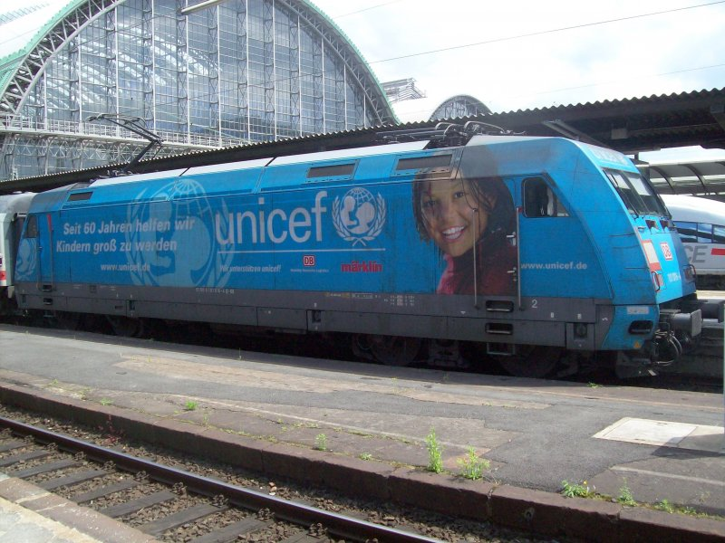 101 016-4 Unicef in Frankfurt